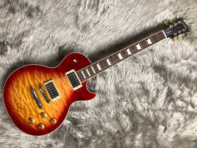 Les Paul Traditional 2017 +Quiltのボディトップ-アップ画像