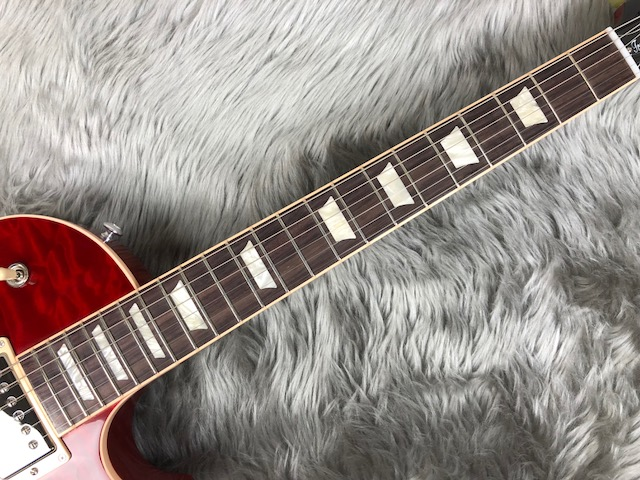 Les Paul Traditional 2017 +Quiltの指板画像