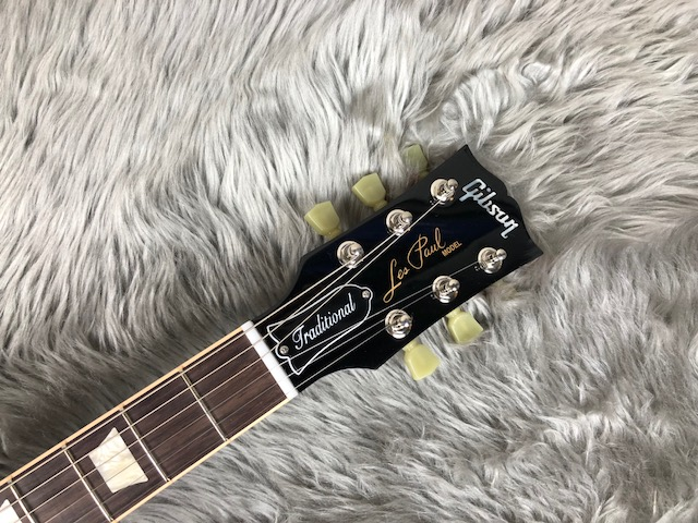 Les Paul Traditional 2017 +Quiltのヘッド画像