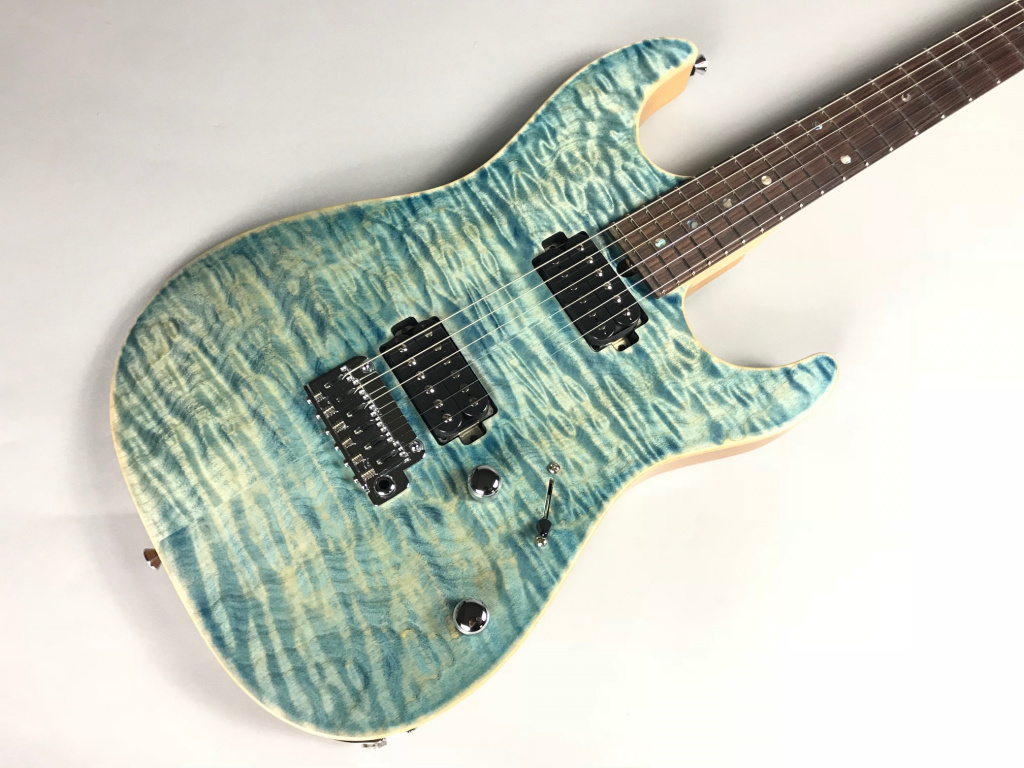 DST-Spider22/ FlameMaple – T's Guitarsの全体画像