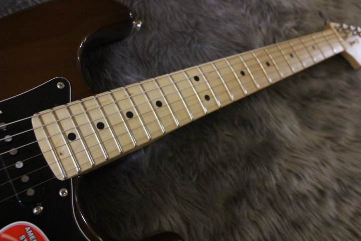 AM SPEC STRAT MN WALの指板画像