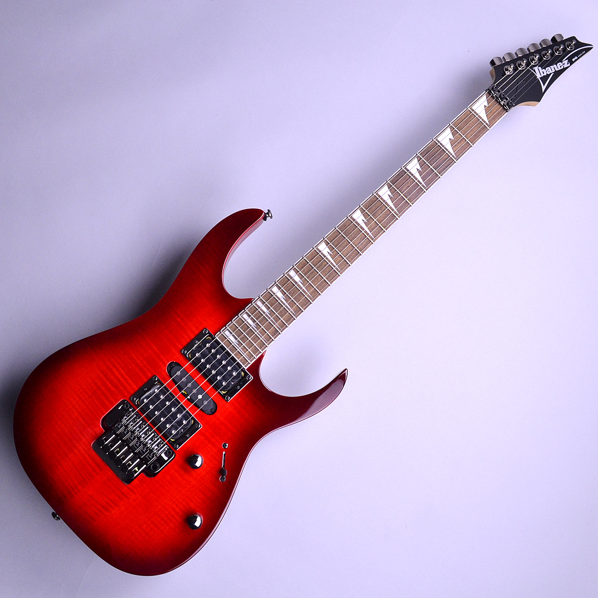 RG370FMZ  Transparent Red Burst