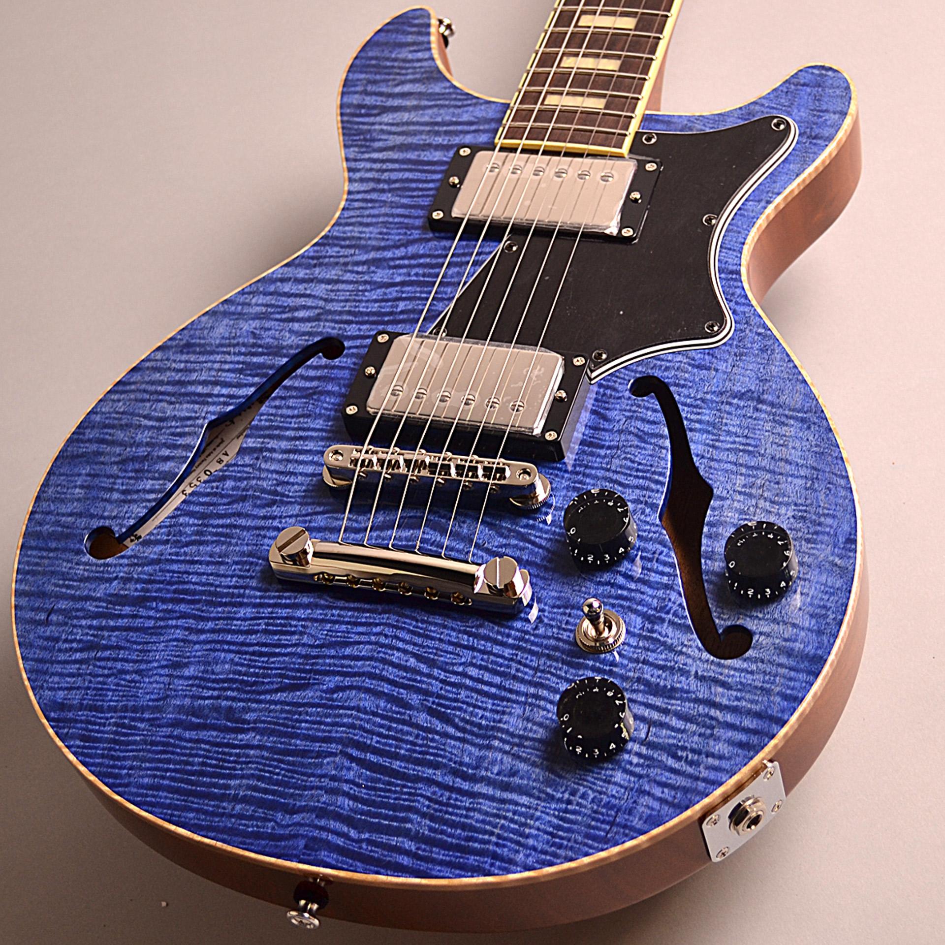 Seventy Seven Guitars ALBATROSS-DXのボディトップ-アップ画像