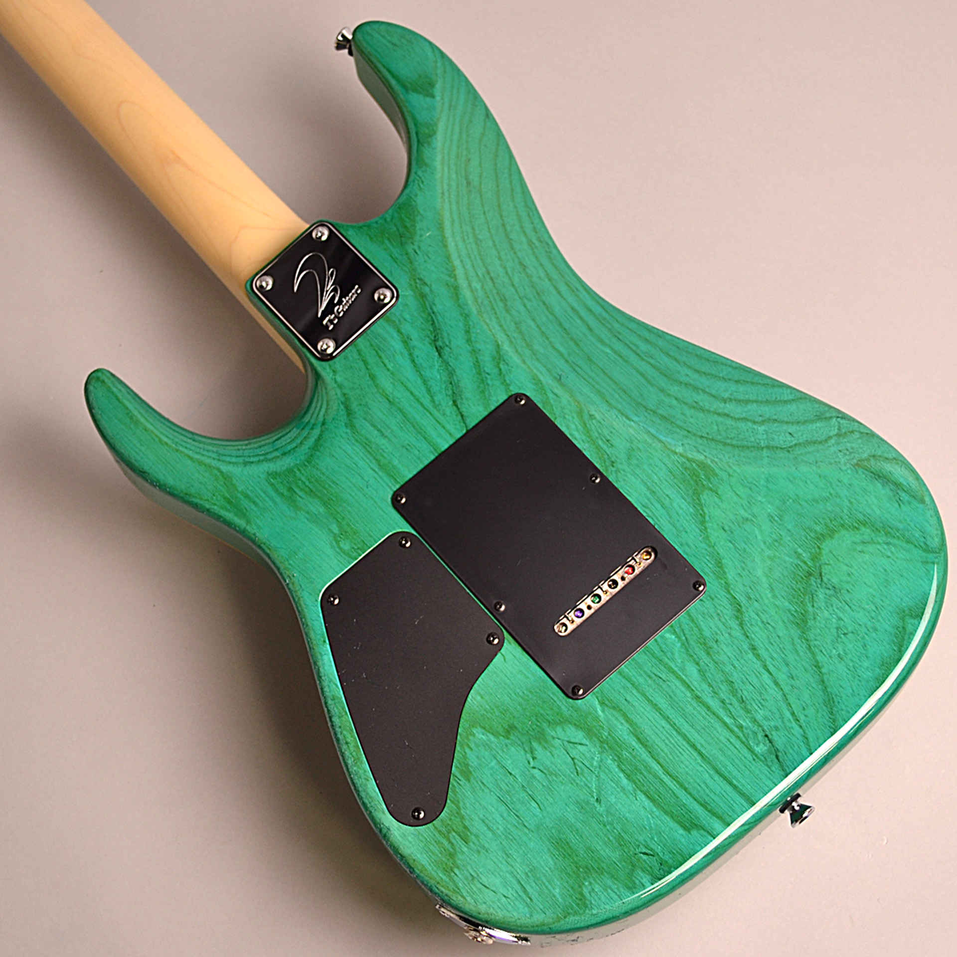 T's Guitars DST-PRO24 Maple (BoraBoraBlue)のヘッド画像