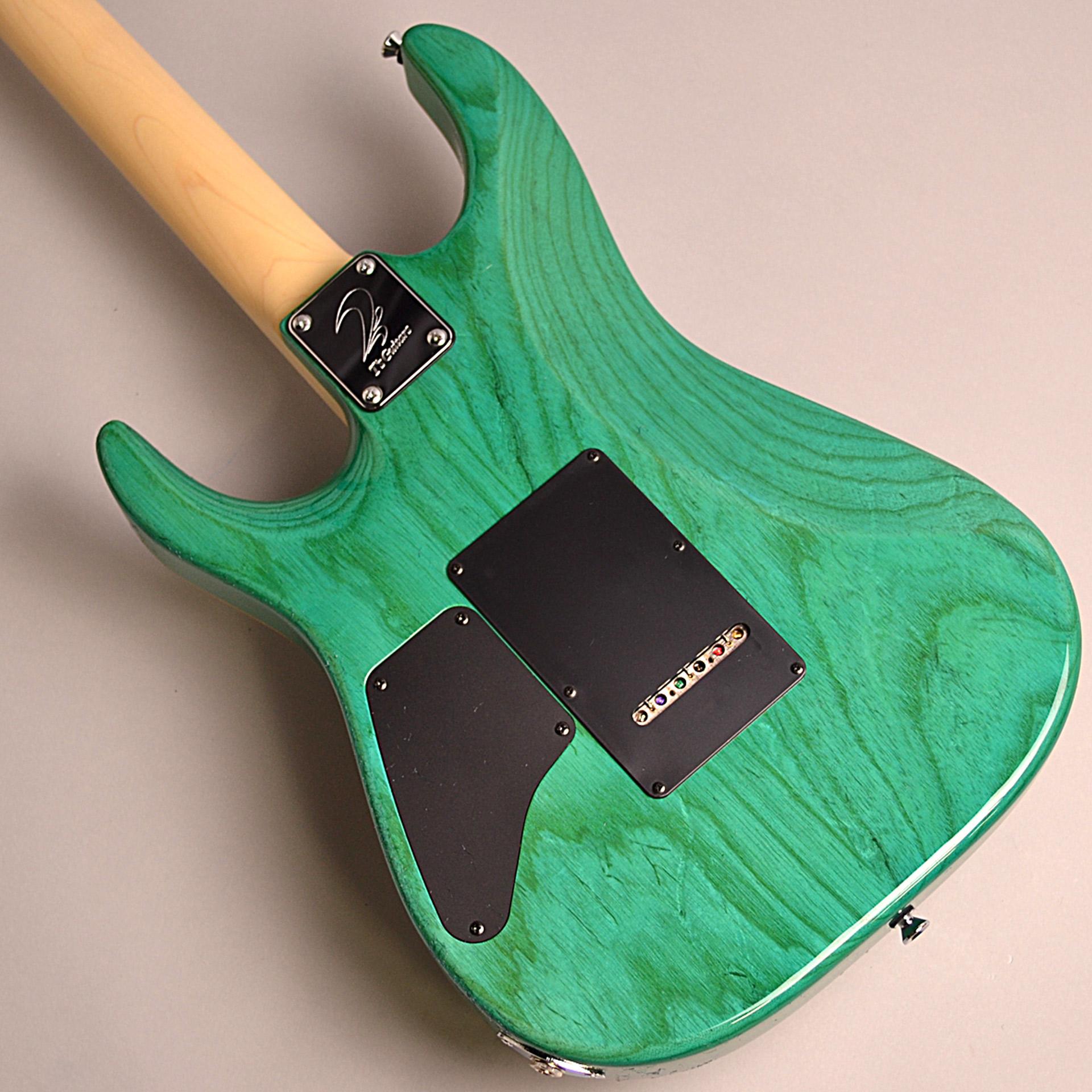 T's Guitars DST-PRO24 Maple (BoraBoraBlue)のヘッド画像