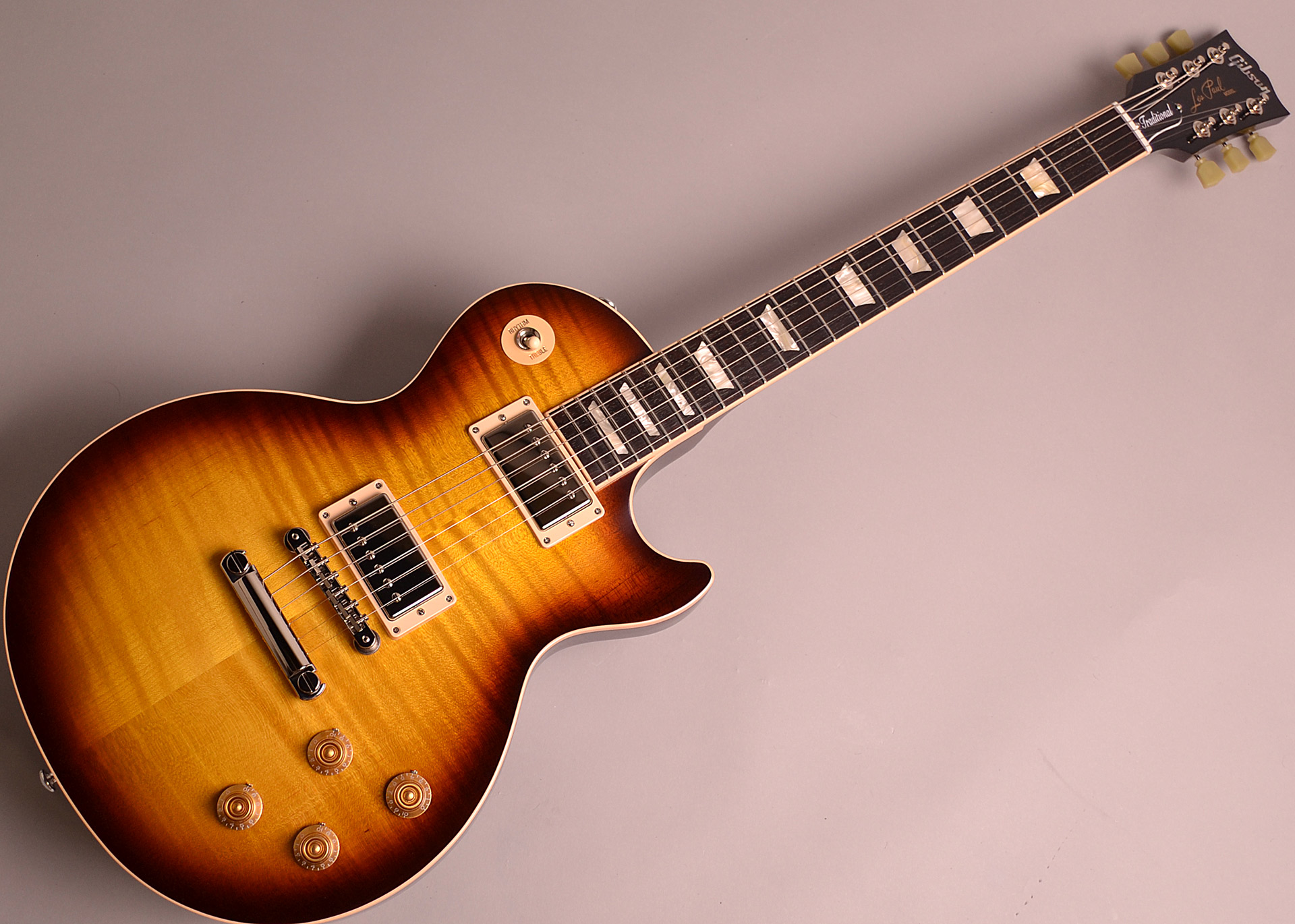 Les Paul Traditional 2018の全体画像