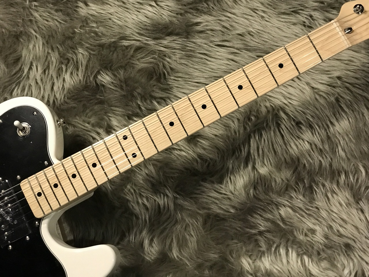 MADE IN JAPAN TRADITIONAL 70S TELECASTER® CUSTOMの指板画像