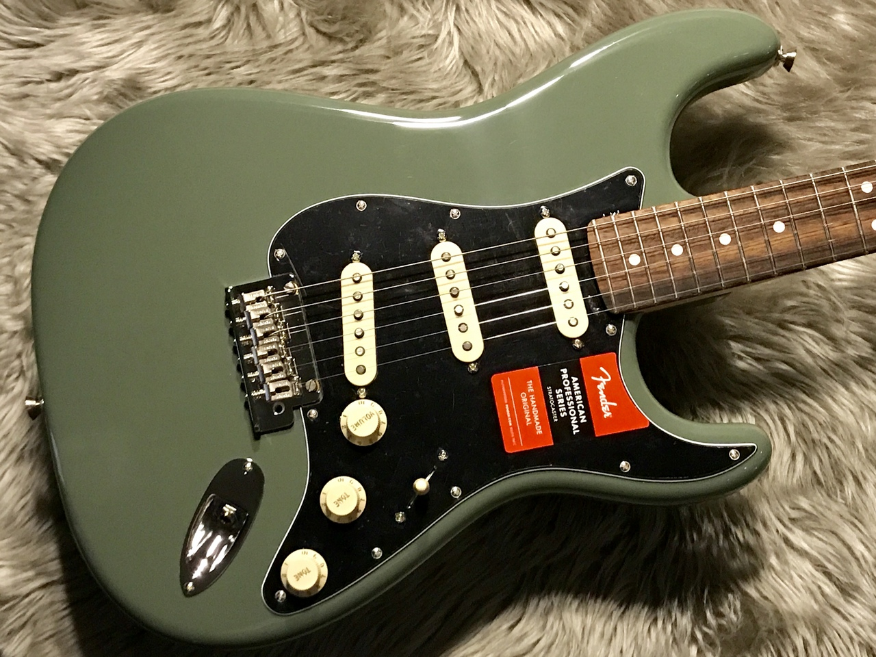 American Professional Stratocaster® RW (ATO)のボディトップ-アップ画像
