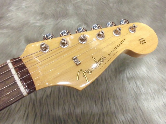 Japan Exclusive Classic 60s Stratocaster Texas Specialのヘッド画像