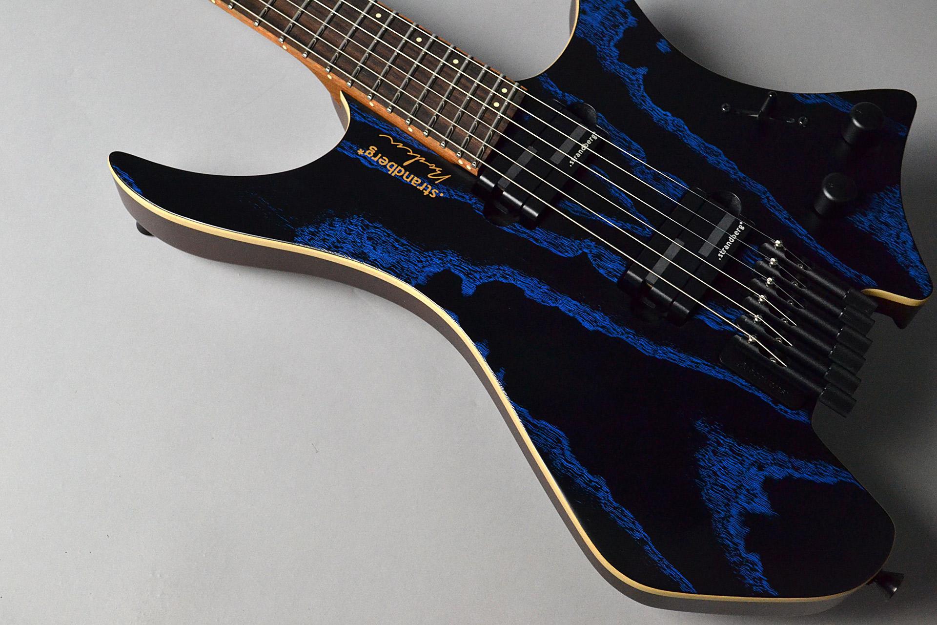 Boden J6 Standard Ash Illusion Blueのボディトップ-アップ画像