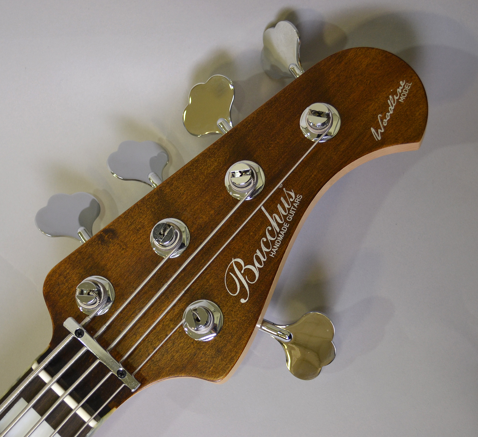 WOODLINE DX5 AC/ E BROWN OIL SN/138316のヘッド画像