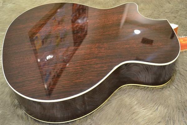 Custom 414ce Rosewood SBのボディバック-アップ画像