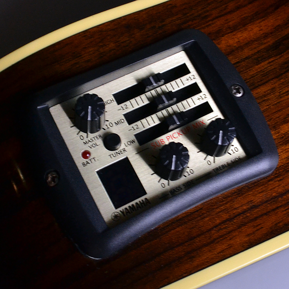 FSX900SC Mocha Black (MBL) 【S/N:HHN200122】の指板画像