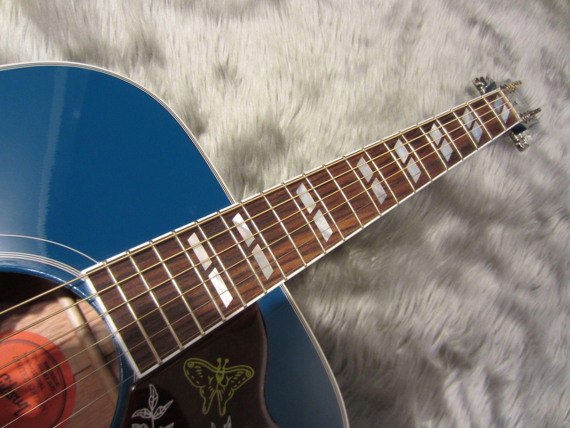 Hummingbird Sky Blueの指板画像