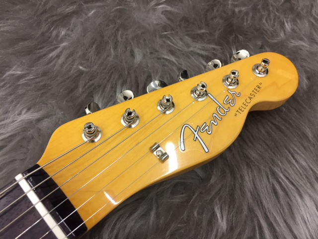 MADE IN JAPAN TRADITIONAL 60S TELECASTER® CUSTOMのヘッド画像