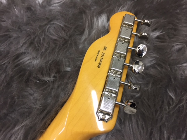 MADE IN JAPAN TRADITIONAL 60S TELECASTER® CUSTOMの指板画像
