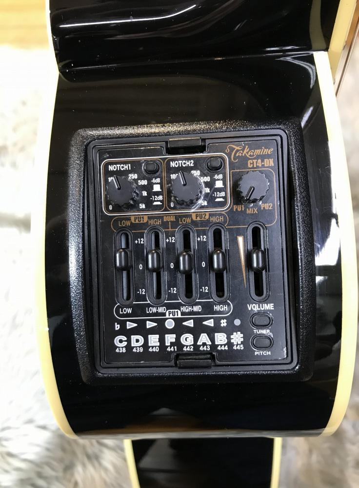 DMP561C BLの指板画像