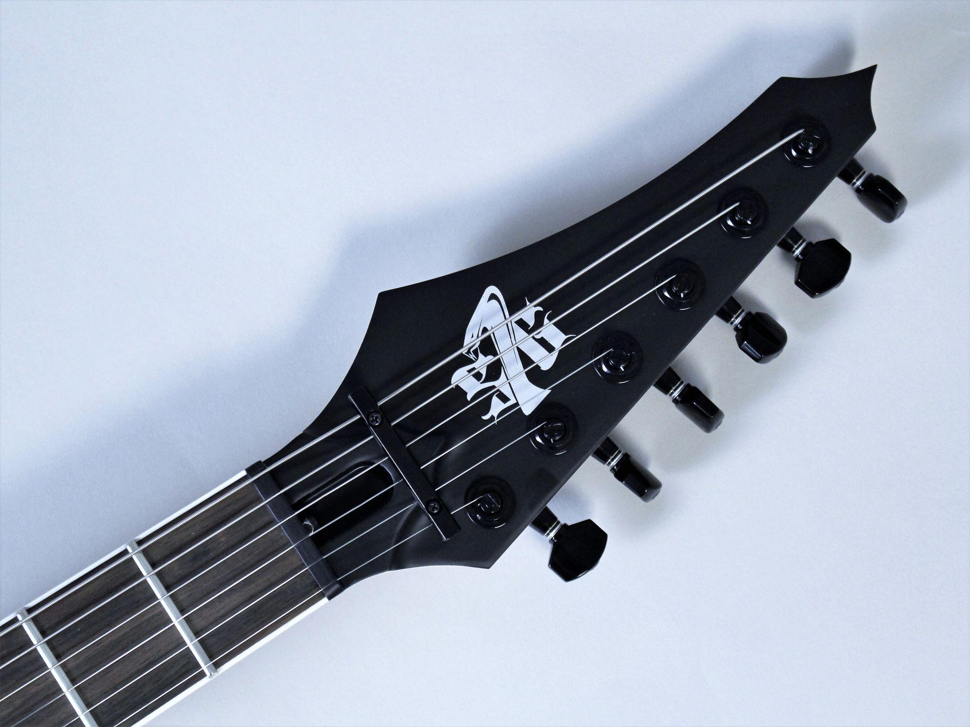 Strictly 7 Guitars – Cobra JS6 QM BBG【6本限定モデル】【4月28日発売・予約受付中】のヘッド画像