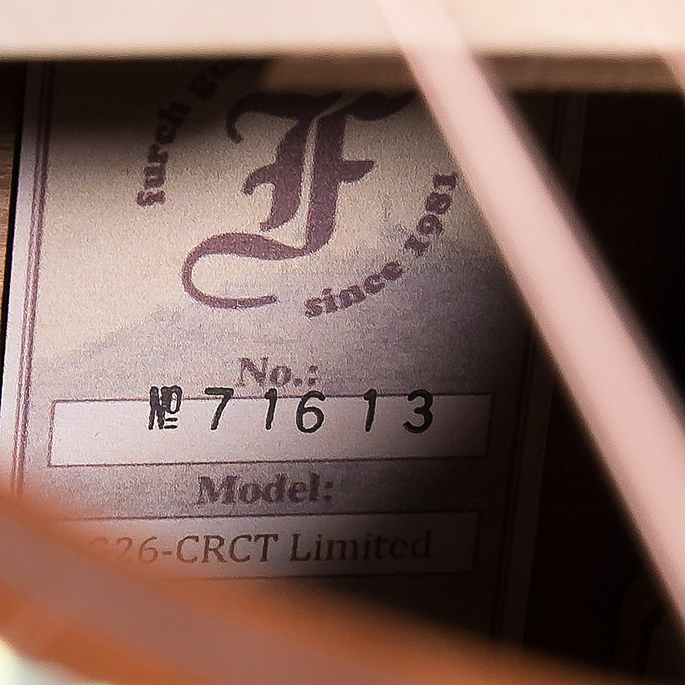 G26-CRCT Limitedの全体画像(縦)