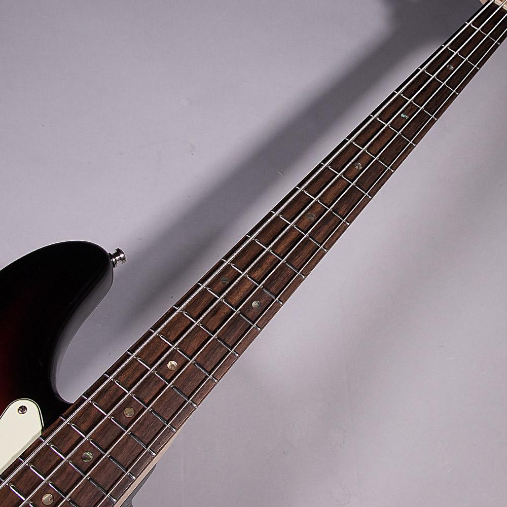 American delux Jazz Bassの指板画像