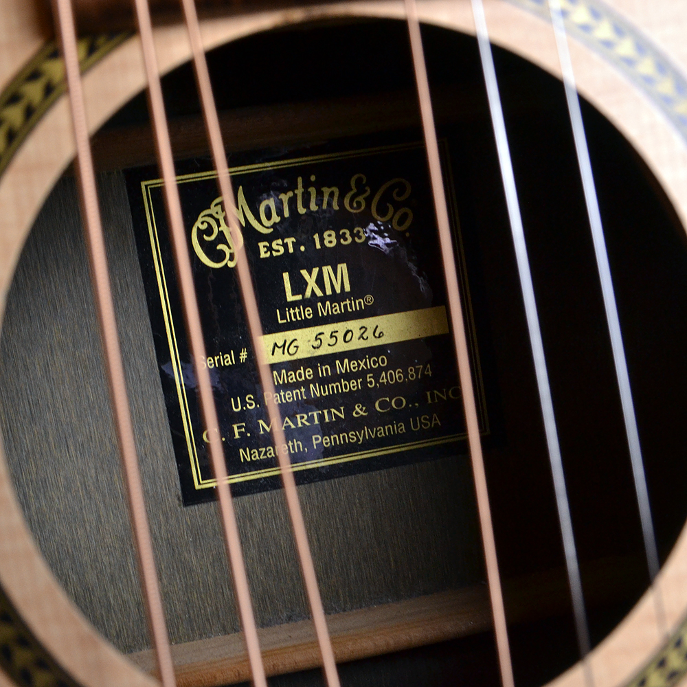 LXM Little Martin Natural (N)【S/N:MG 55026】のケース・その他画像