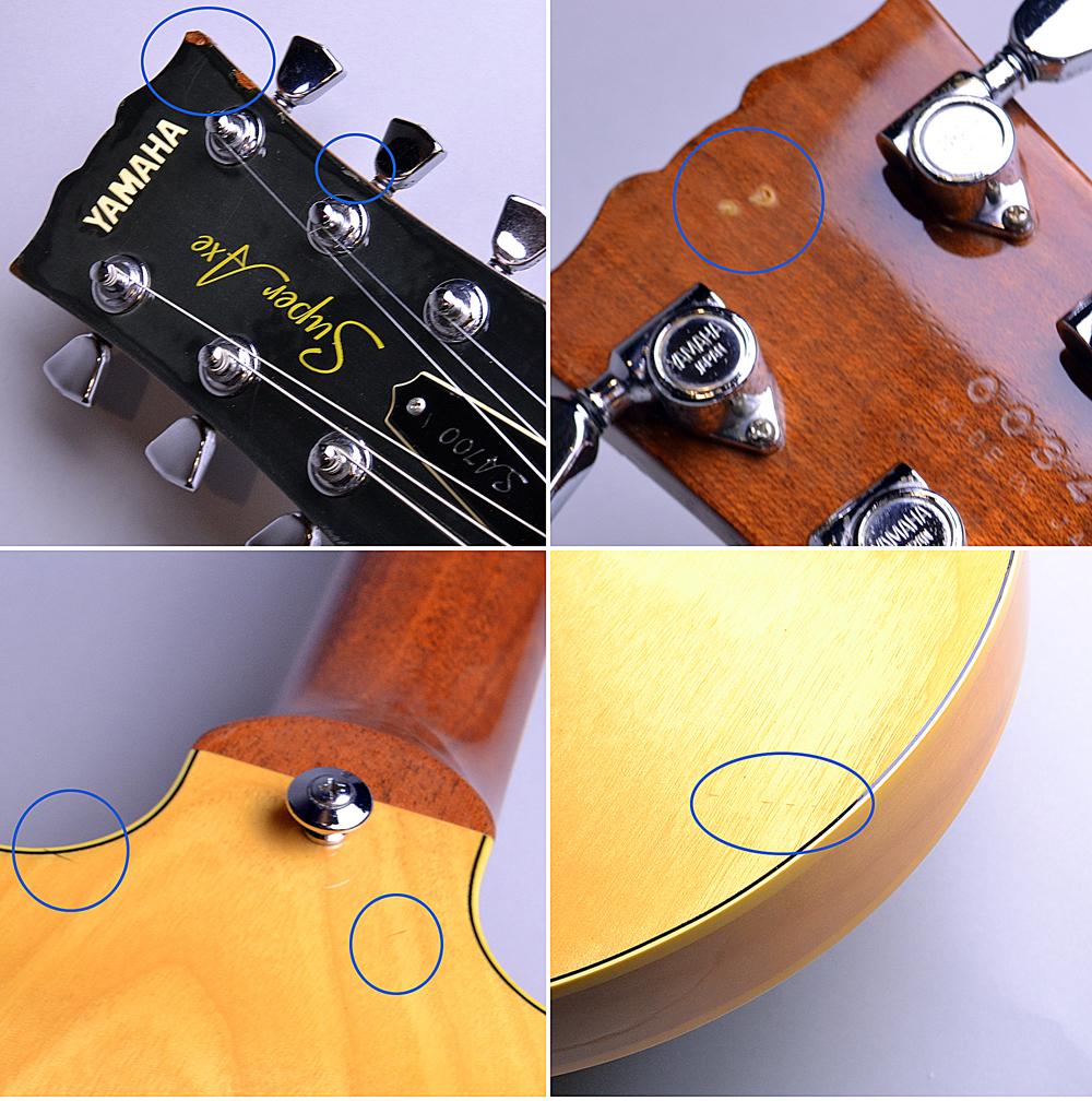 SA-700 Yellow Natural (YN) 【S/N:003497】のケース・その他画像
