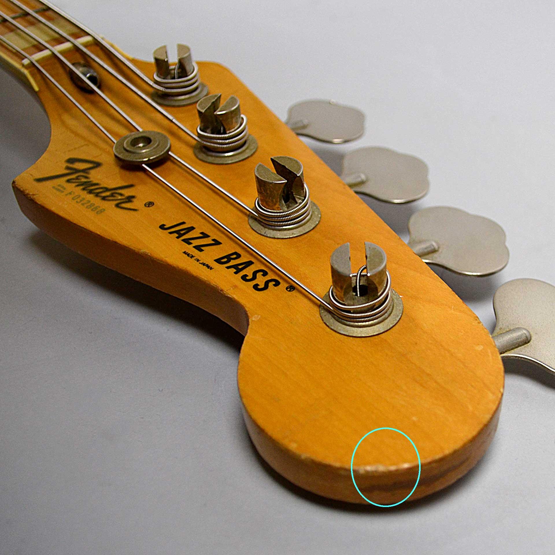 Jazz Bass(USED)のボディバック-アップ画像