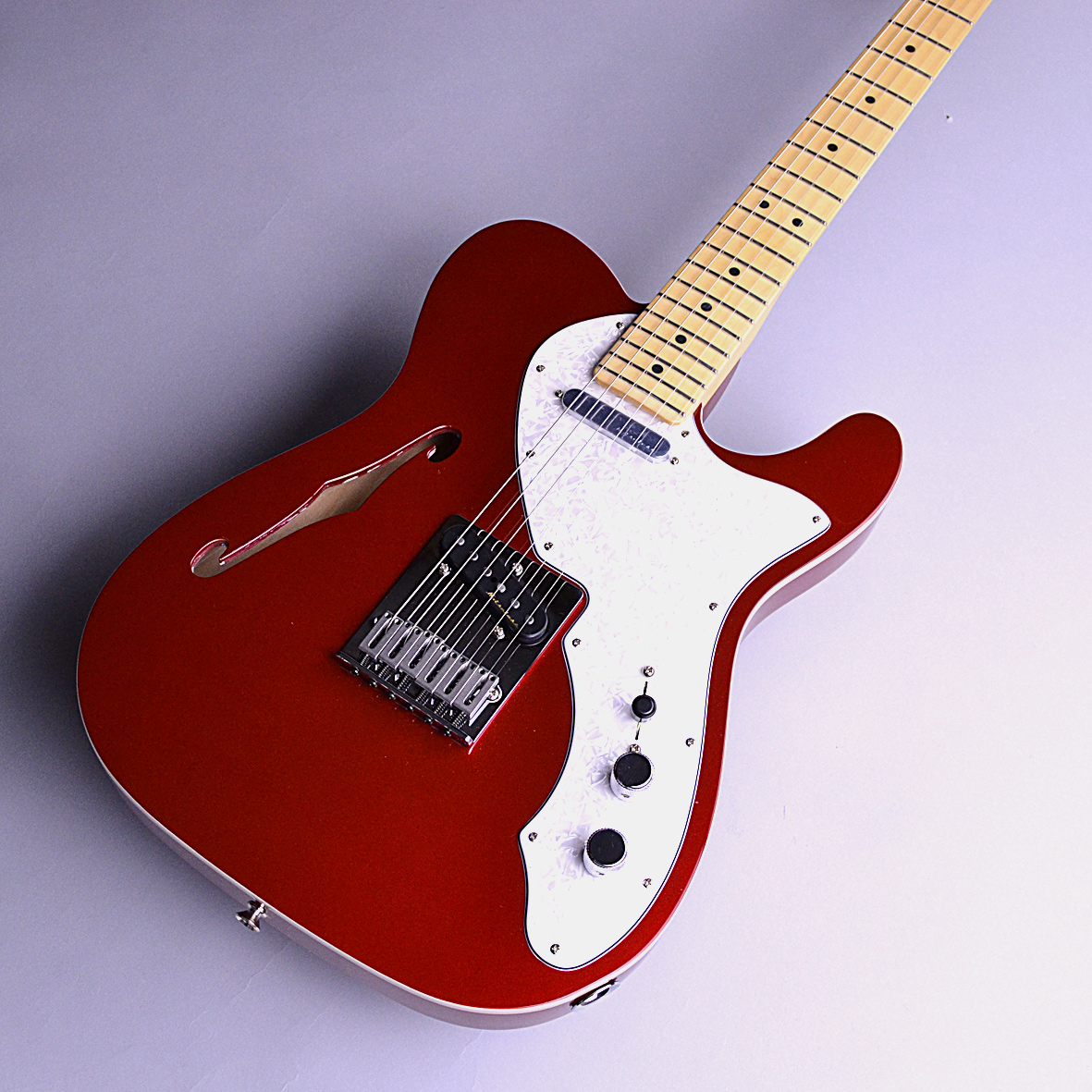 Deluxe Telecaster Thinline MN CARの全体画像