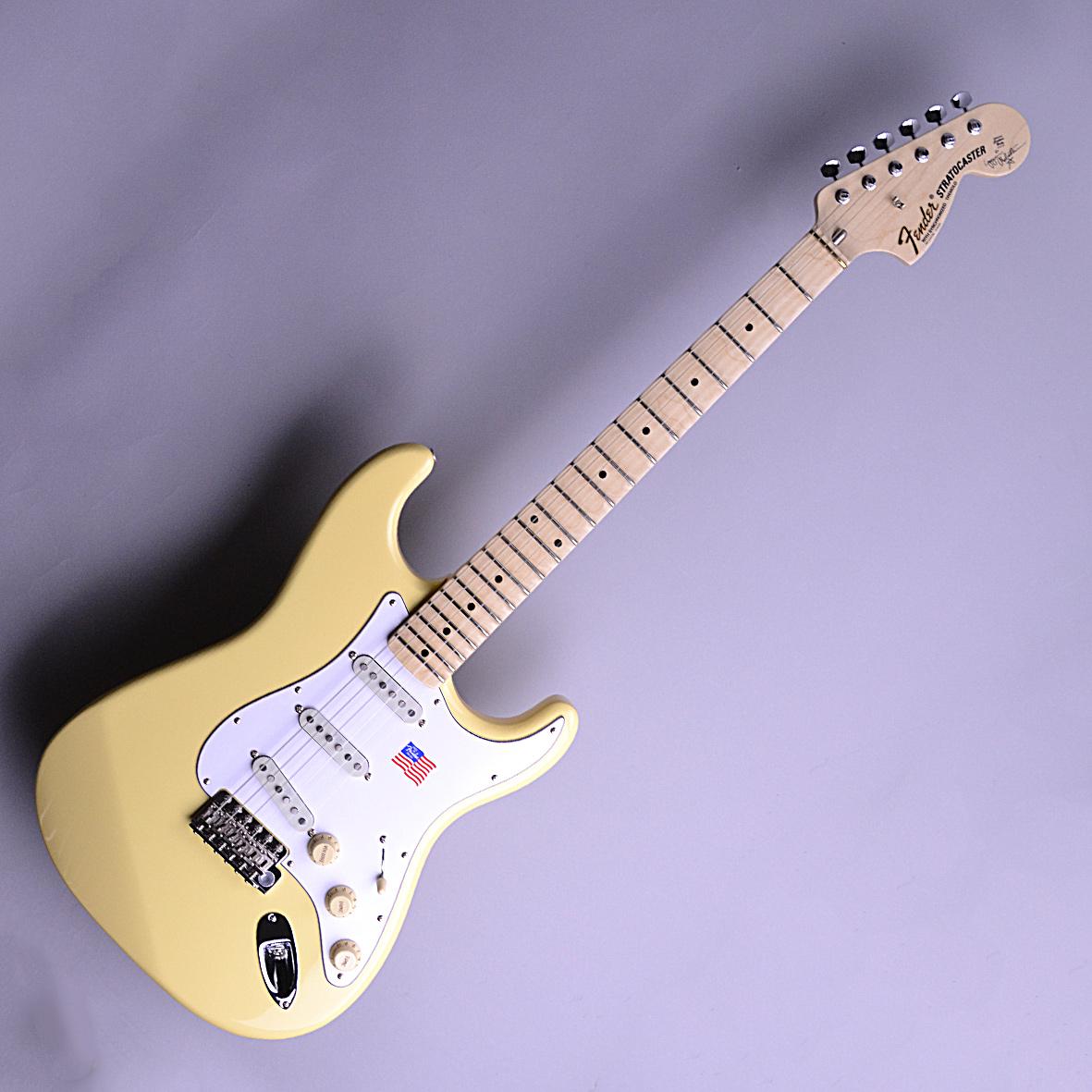 Yngwie Malmsteen Stratocasterのボディトップ-アップ画像