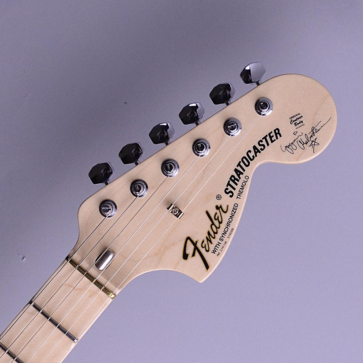 Yngwie Malmsteen Stratocasterのヘッド裏-アップ画像