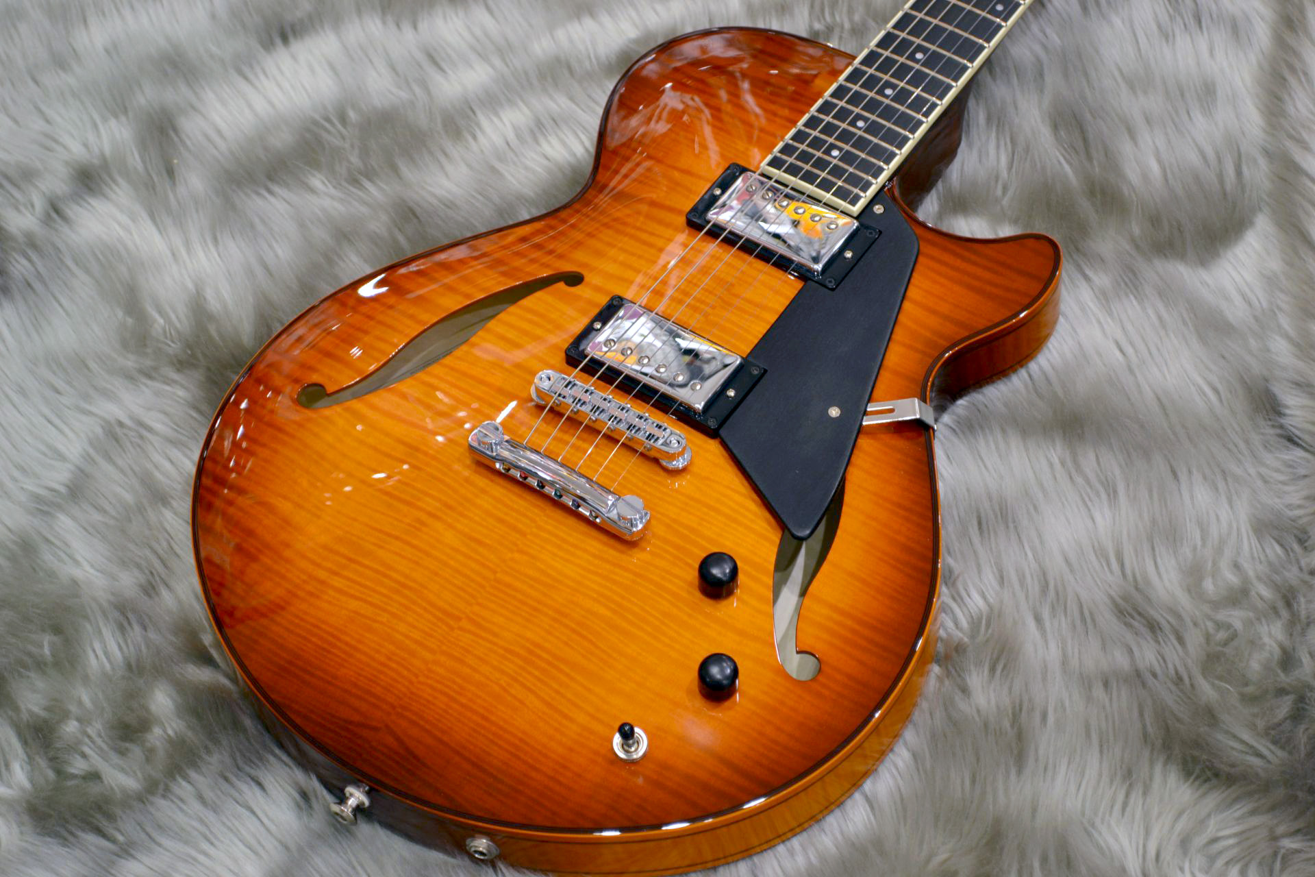 Semi Hollow/Sienna Burst