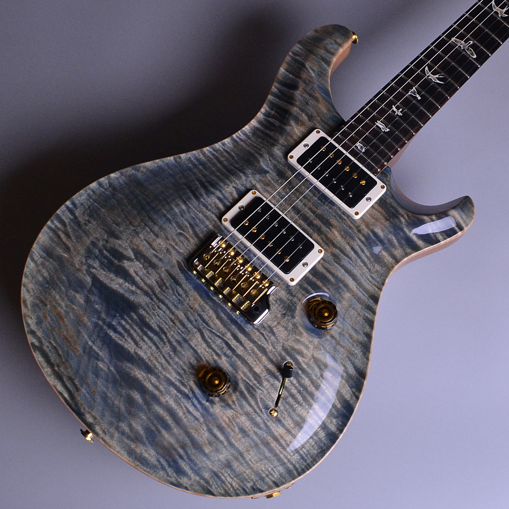 Custom 24 1Piece 10 Top PT Faded Whale Blue 2017年製 【S/N:17 238941】のボディトップ-アップ画像