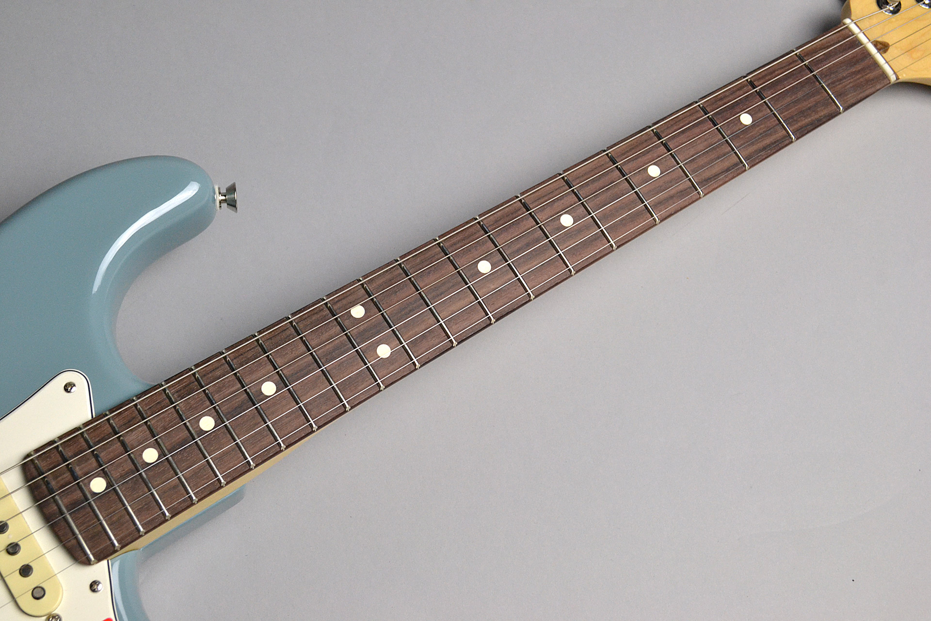 American Professional Stratocaster Sonic Grayの指板画像