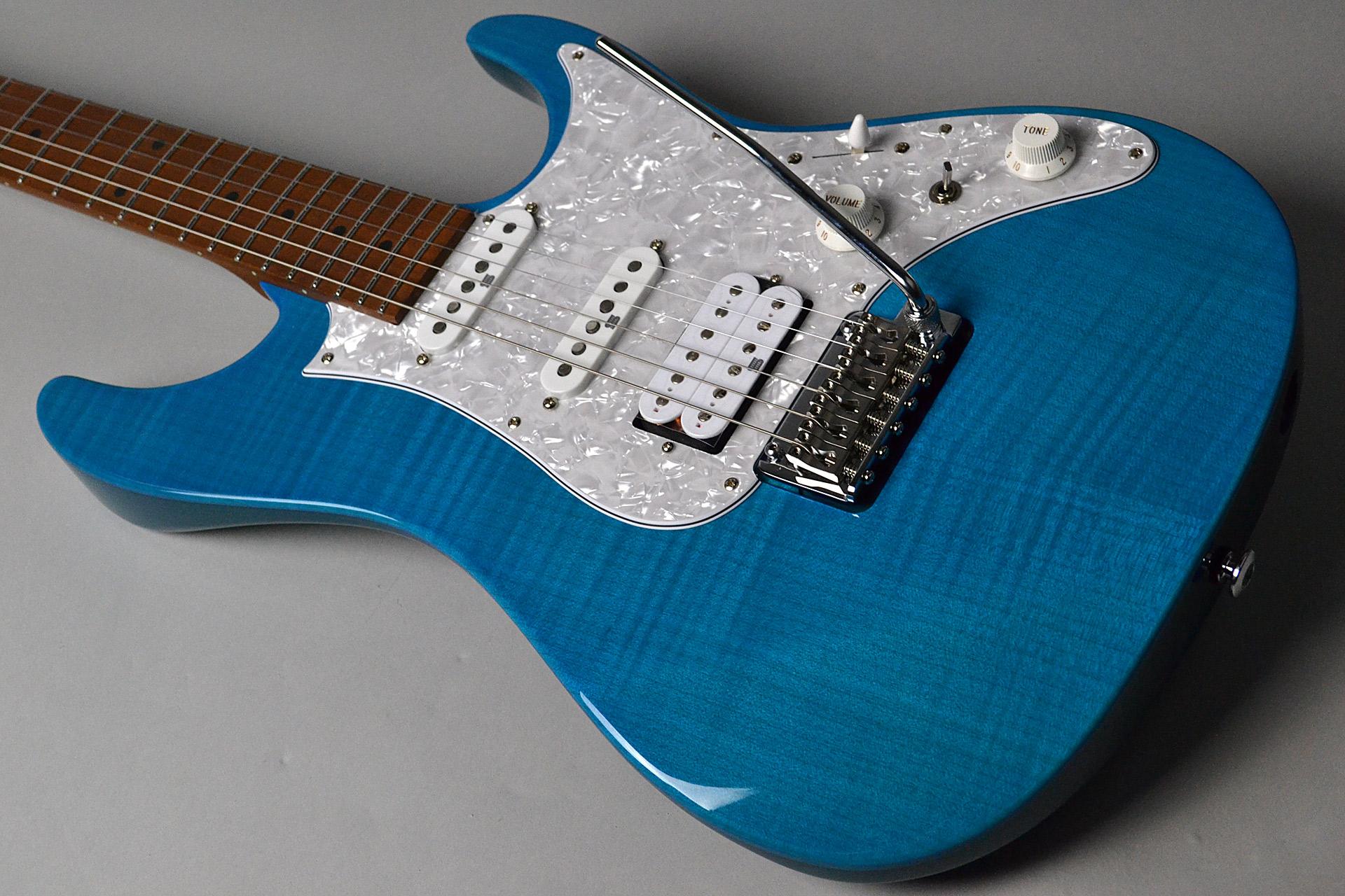 AZ2204F TAB Transparent Aqua Blueの全体画像(縦)
