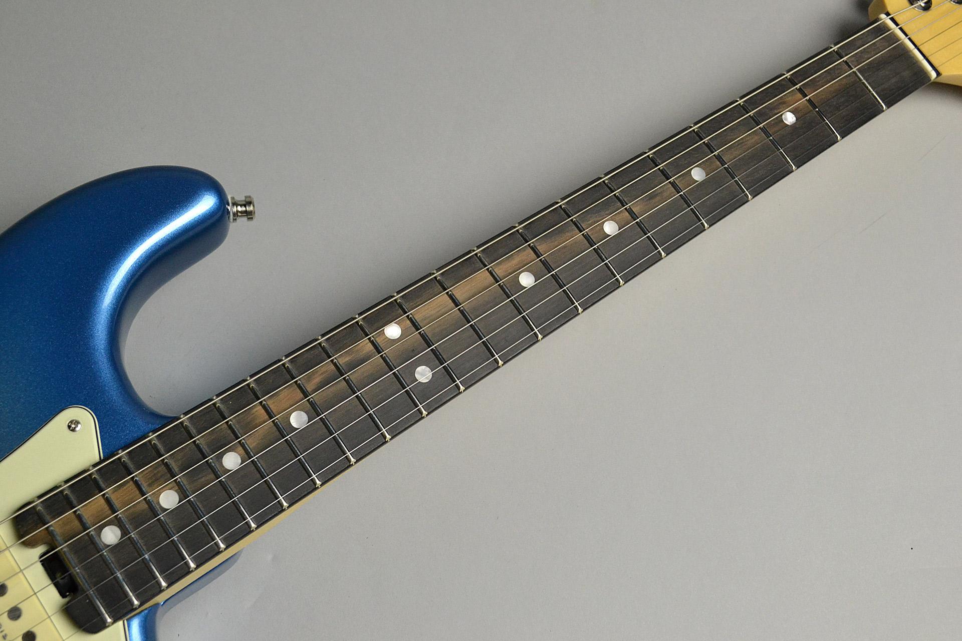 American Elite Stratocaster Sky Burst Metallicの指板画像