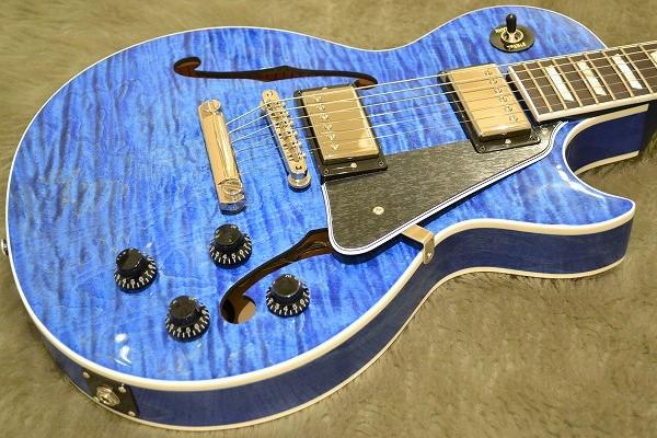 ES-LP Blue Stainのボディトップ-アップ画像