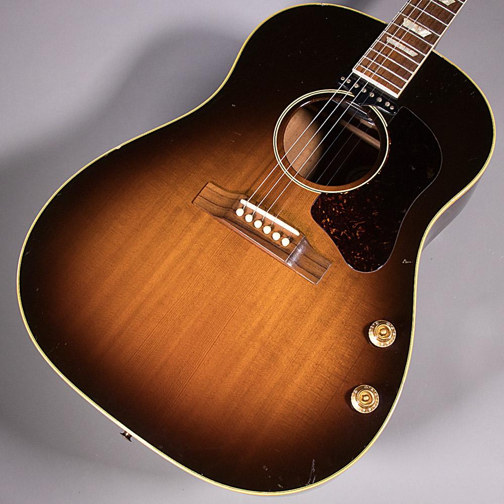 Gibson J160Eのボディトップ-アップ画像