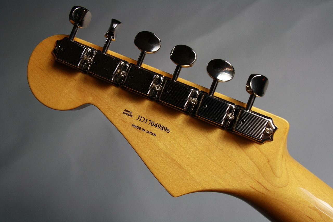 Made in Japan Traditional 50s Stratocasterのヘッド裏-アップ画像