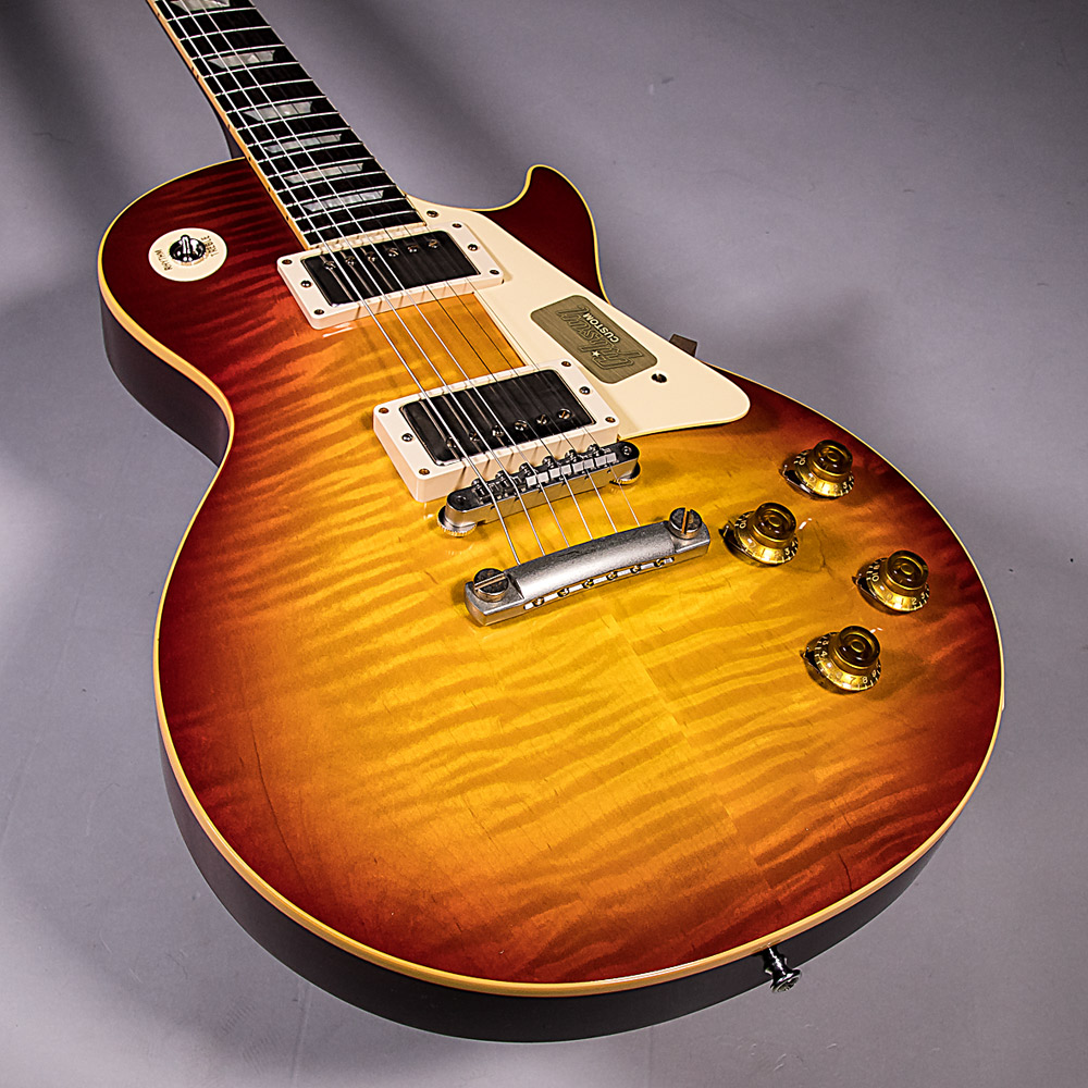 1958 Les Paul Model Hard Rock Maple VOS 2017の指板画像