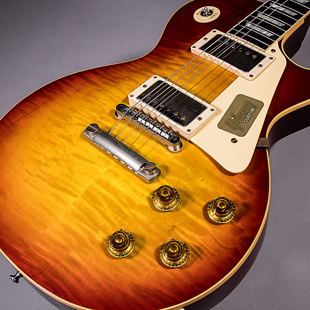 1958 Les Paul Model Hard Rock Maple VOS 2017の全体画像(縦)