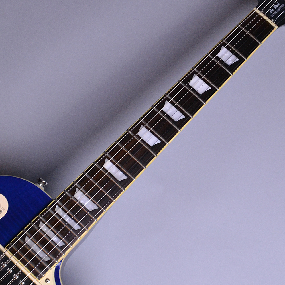 Les Paul Standard Plus Top Pro Trans Blue (TB) 【S/N:15081506424】の全体画像(縦)
