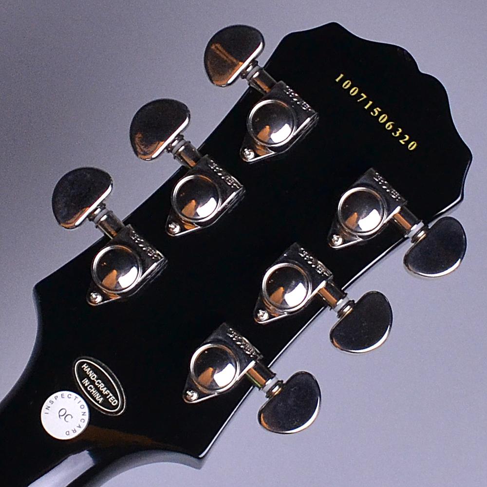 Les Paul Standard Ebony (EB) 【S/N:10071506320】のヘッド裏-アップ画像