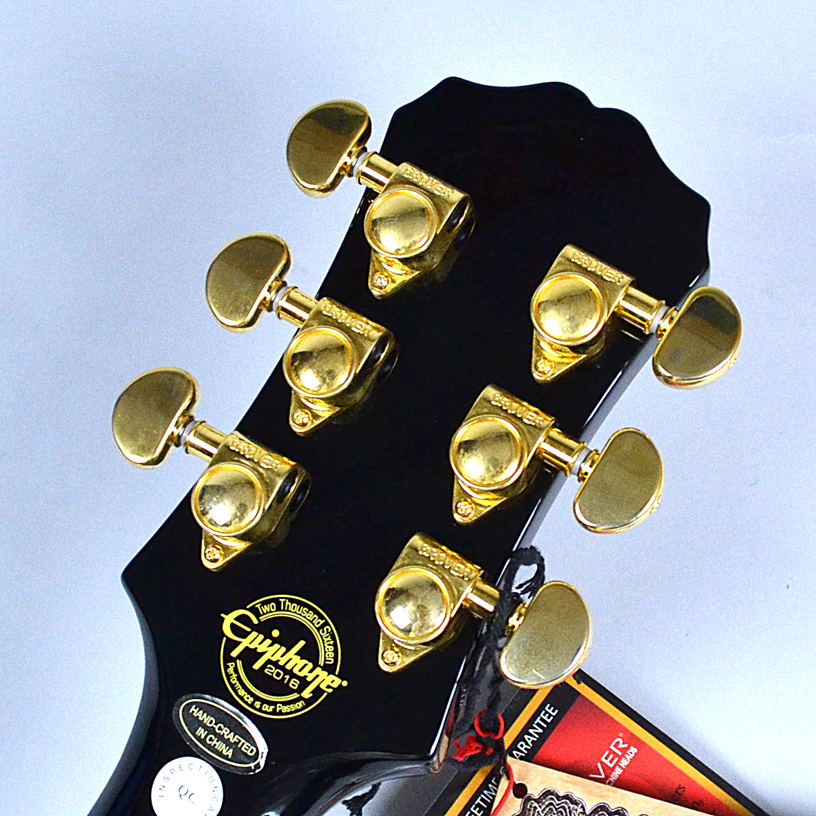 Les Paul CUSTOM PRO (ProBuckers & Coil-Tapping)のヘッド画像