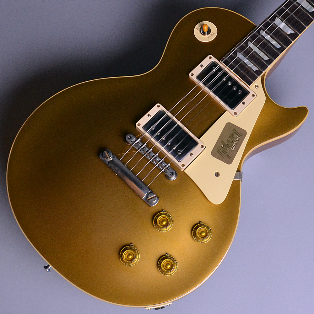 2017 Limited Run 1957 Les Paul Model Antique Gold (AG) 【S/N:7 7178】のボディトップ-アップ画像
