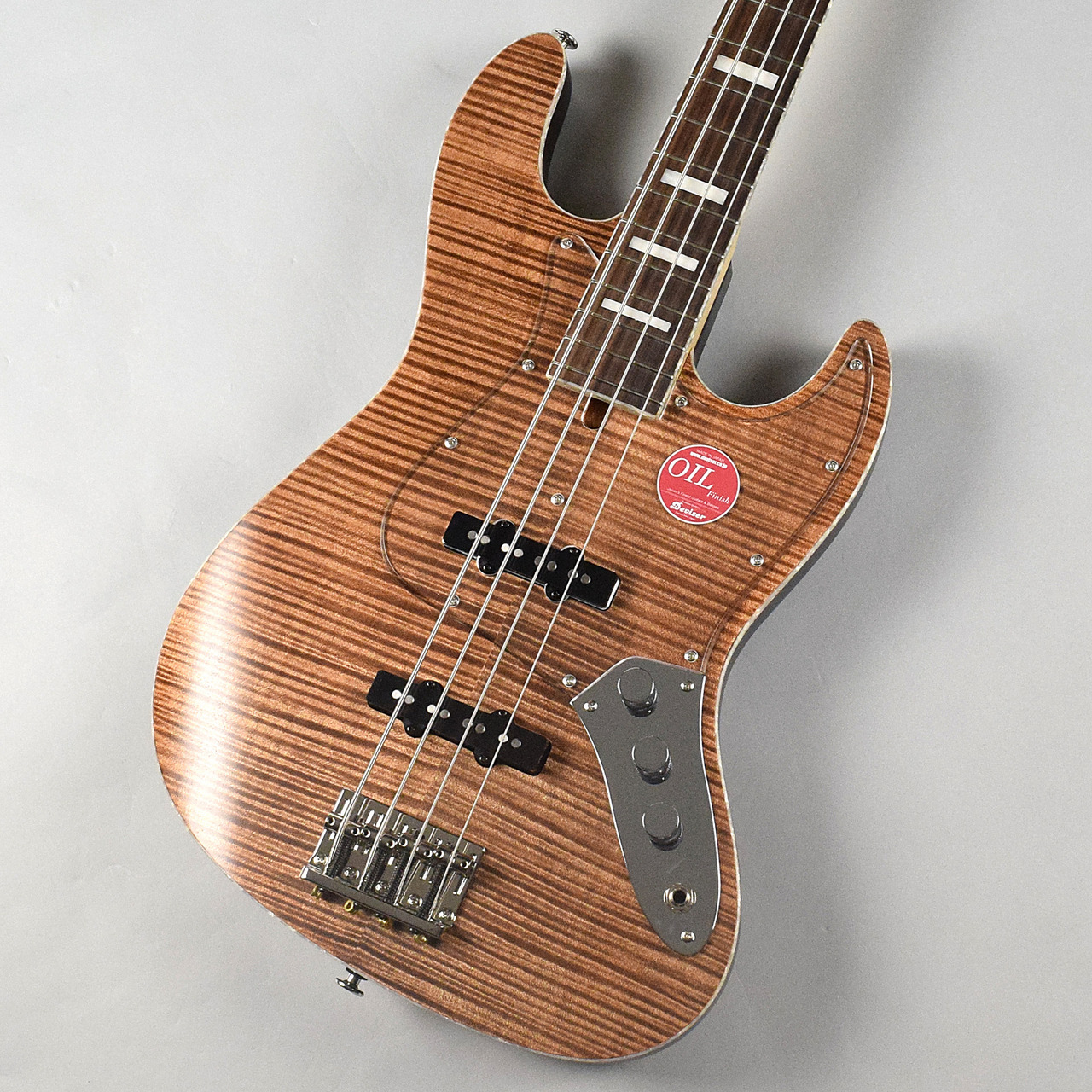 Bacchus Craft Series WL4-FM Custom/ R /OIL(BR)のボディバック-アップ画像