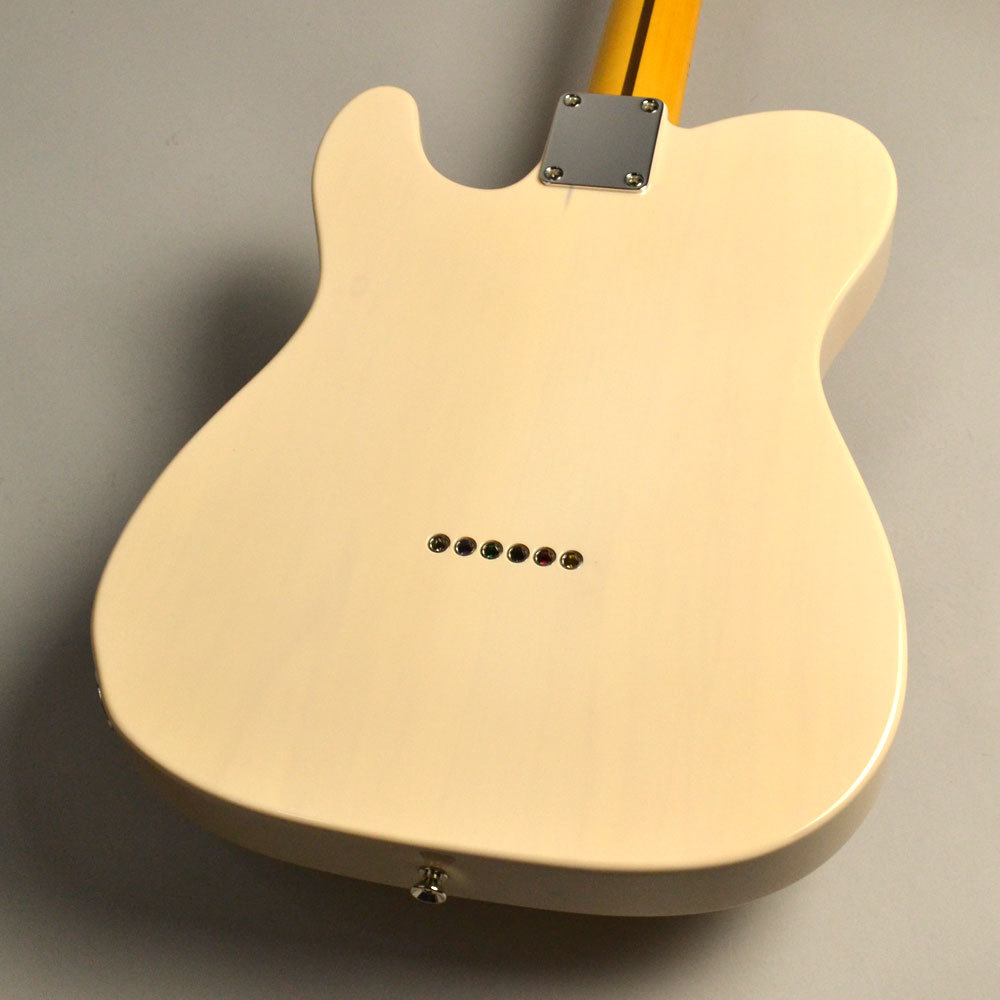 Made in Japan Traditional 50s Telecaster US Blondeのヘッド裏-アップ画像