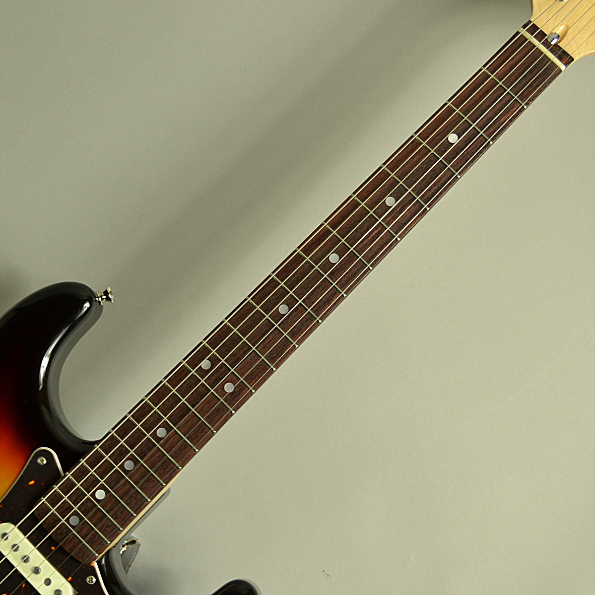 Traditional 70s Stratocasterの指板画像