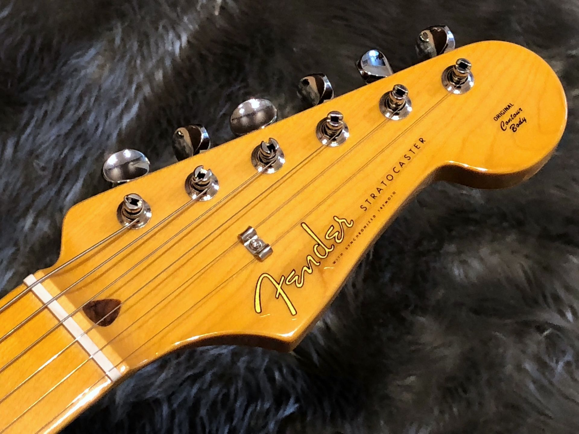 MIJ Traditional 50s Stratocasterのヘッド画像