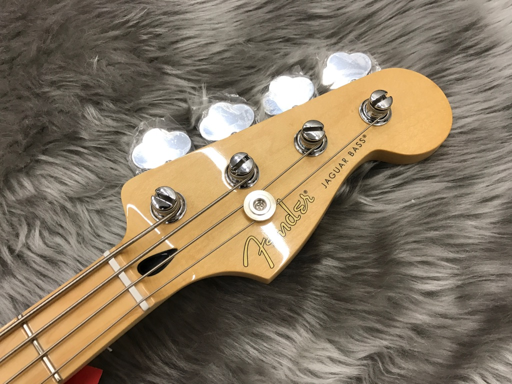 PLAYER JAGUAR BASSのヘッド画像