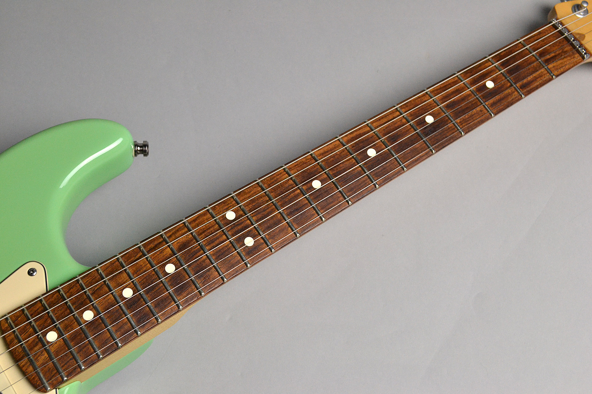 USED/ Jeff Beck Stratocaster Dual-coil Celamic Noise-less Pickupの指板画像